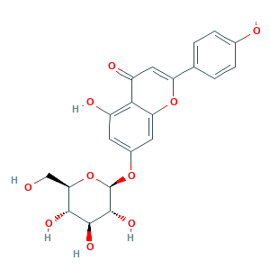 Apigenin 7-glucoside 578-74-5