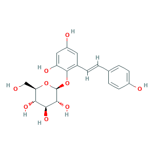 2,3,5,4'-Tetrahydroxy stilbene 2-Ο-β-D-glucoside 82373-94-2