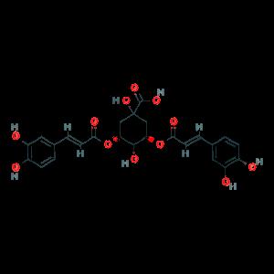 3, 5-Di-O-caffeoylquinic acid 89919-62-0